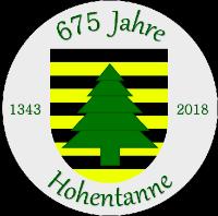 675 Jahre Hohentanne